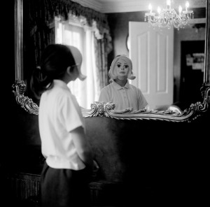 mask-in-mirror